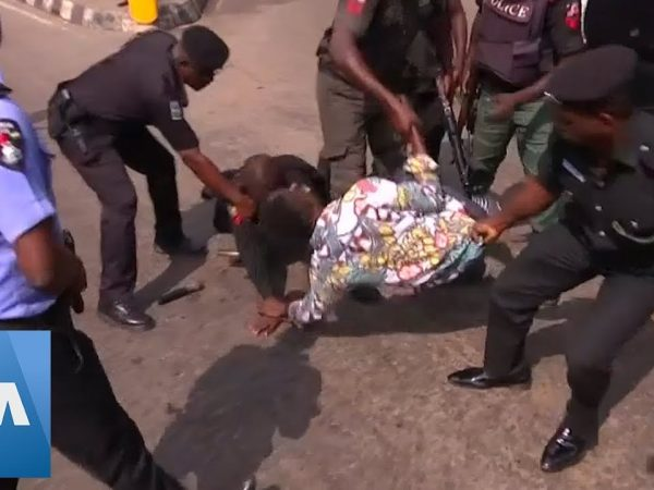 Police Crack Down on Protesters in Nigeria - VOA News